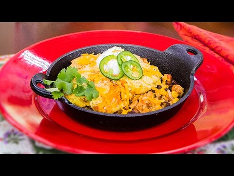 "Home & Family - Christina Cooks ""Taste of Home"" Magazine's Easy Chicken Tamale Pie"