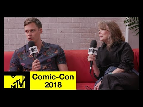 Bill Skarsgård and Sissy Spacek on 'Castle Rock', Stephen King, & More  ComicCon 2018  MTV