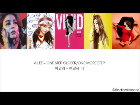 [Han, Rom, English Lyrics] Ailee (에일리) - 한걸음 더 (One Step Closer)
