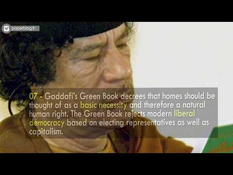 Unknown Surprising Facts About Muammar Gaddafi || Pastimers