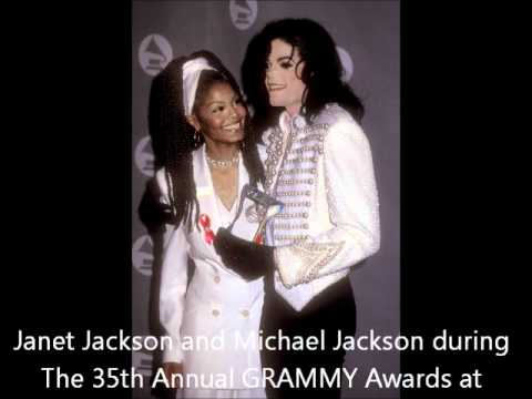 SIBLING LOVE-MICHAEL AND JANET JACKSON