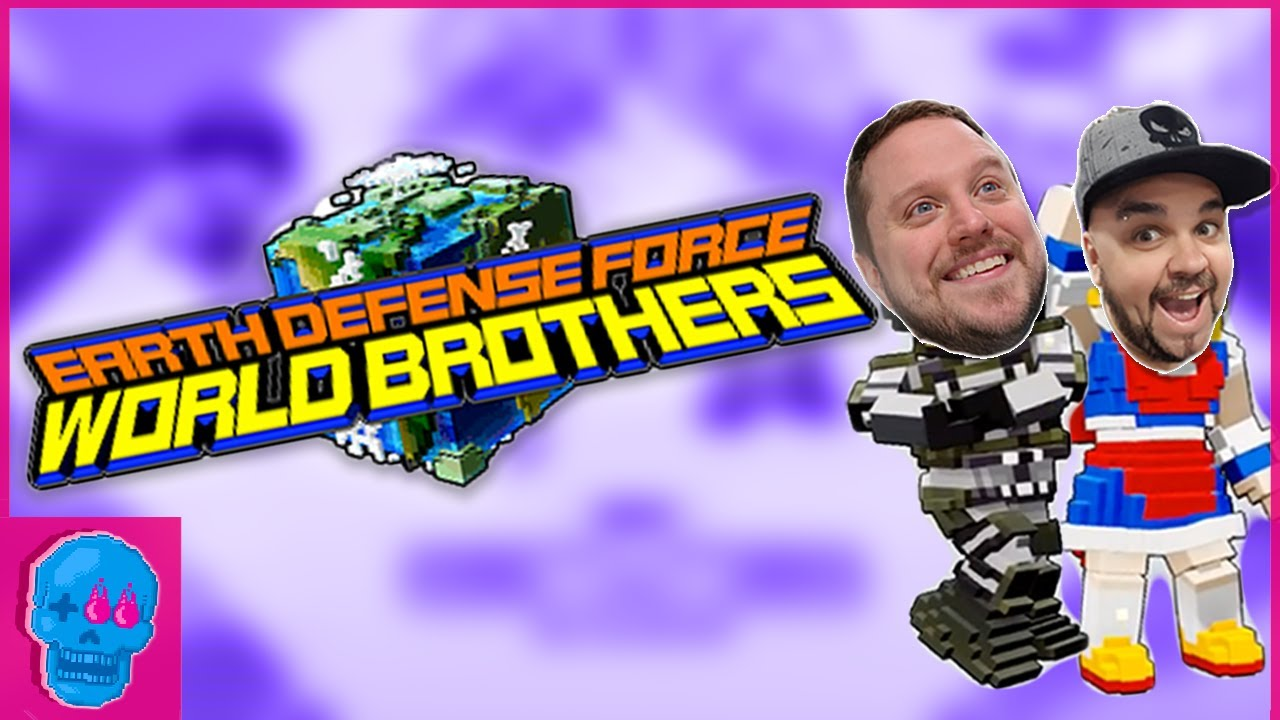 Earth Defense Force World Brothers (w/Matt McMuscles!)   Gameplay [SSFF]
