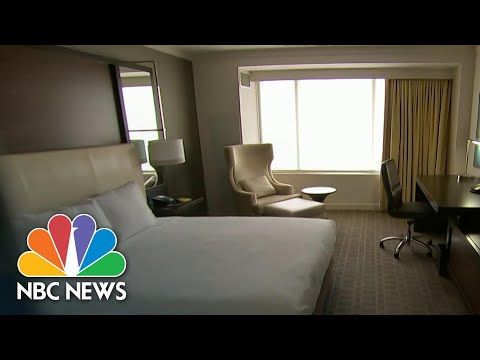 How Hotels Aim To Adapt For The Coronavirus Crisis | NBC Nightly News