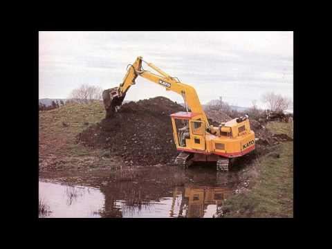 Kato Excavators slideshow