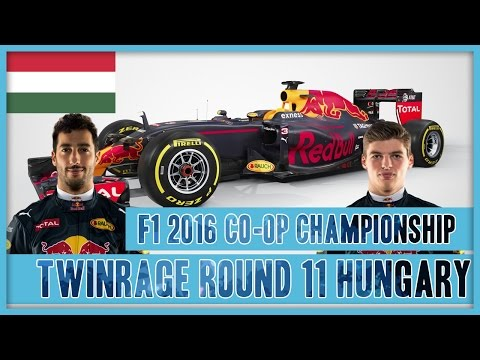 TwinRaGe Youtube Co-op Championship F1 2016 - Round 11 Hungary