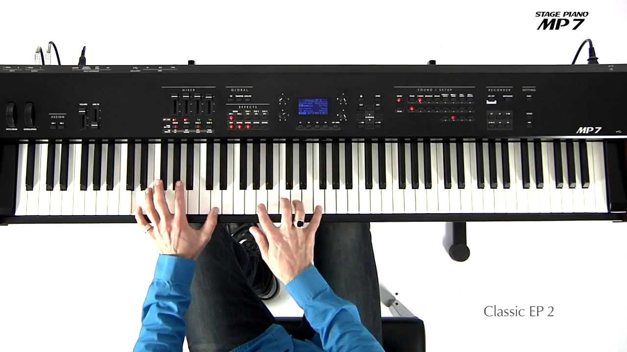 Video Demos | Media | Kawai MP Stage Pianos