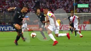 Perú vs. Nueva Zelanda: El resumen del primer tiempo