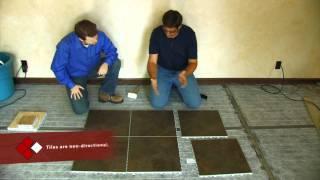 snapstone porcelain tile installation floor installation