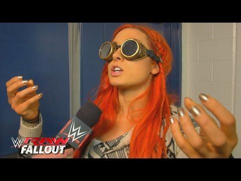 Becky Lynch Ist Bereit Für Einen Sturm: Raw Fallout – 7. Dezember 2015