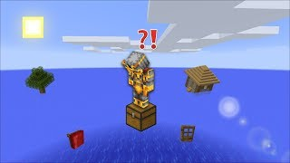 TSUNAMI SURVIVAL CHALLENGE MOD / SURVIVE THE WATER APOCALYPSE TSUNAMI !! Minecraft