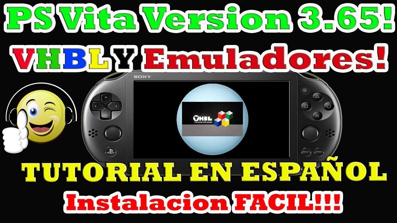 emuladores en ps vita version 3 65 instalacion de vhbl con demo de rh youtube com manual de psp 3001 en español Deteccion De Defectos En Piezas