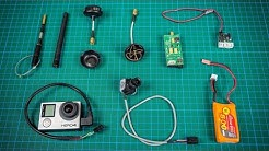 FPV für Einsteiger - #02 Komponenten Modell - Sender, Antenne, Kamera & Co.