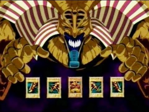 YU GI OH Exodia The Forbidden One YouTube