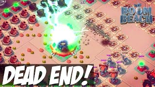 Dead End TOO EASY?! Boom Beach Operation and Player Base Attacks! 1080P 60FPS