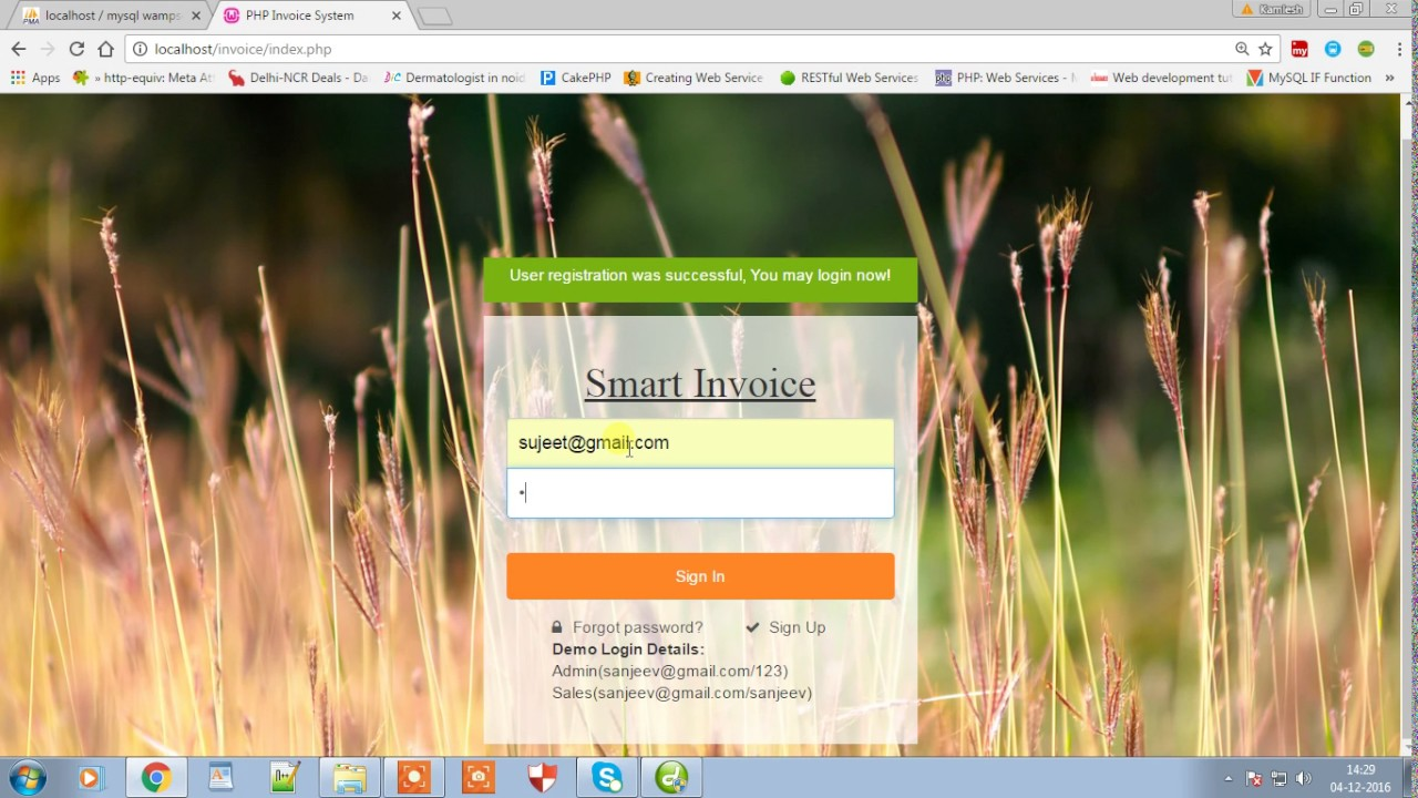 Invoice Management System YouTube - Invoice management system