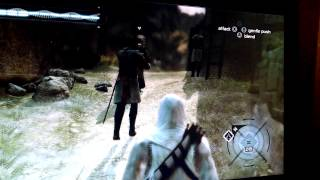 How To Pick-Pocket a person on Assassins Creed 1