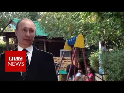 Vladimir Putin in Armenia - BBC News