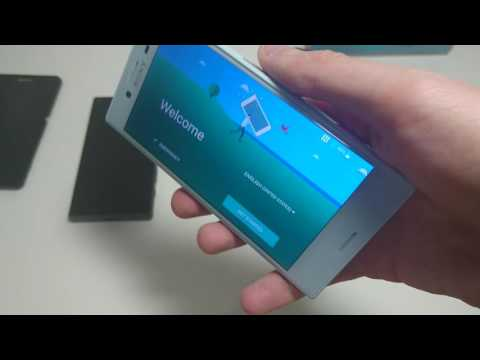 Sony Xperia X Compact Unboxing Blue (USA- Amazon) Hands On vs Z5 Compact