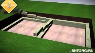 ЖБИ Торг Как построить подвал ФБС, фундаментные блоки(, 2015-09-02T08:11:43.000Z)