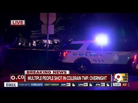 Three kids among nine people shot at Colerain Township party, police say