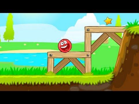 RED BALL 4 КРАСНЫЙ ШАРИК против ЗЛОГО черного КВАДРАТА игровой мультик видео для детей #KID
