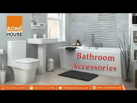 Quality Bathroom Accessories @ Aone House - YouTube