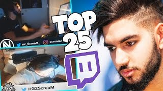 ScreaM& 39 s Top 25 Most Viewed CS GO Twitch Clips Of All Time