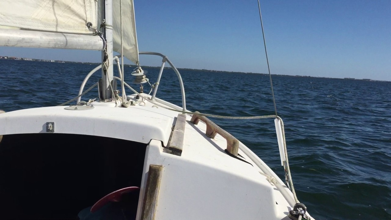 Compac 16 sailing First Trip