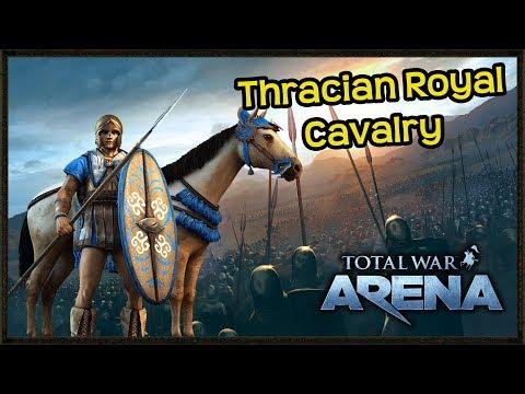 Total War: Arena Gameplay - Premium Thracian Royal Calvary