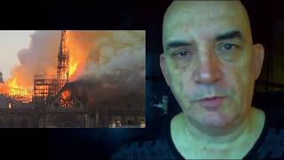 Incendie de Notre-Dame à Paris : J'en suis à l'origine et j'avais prévenu.