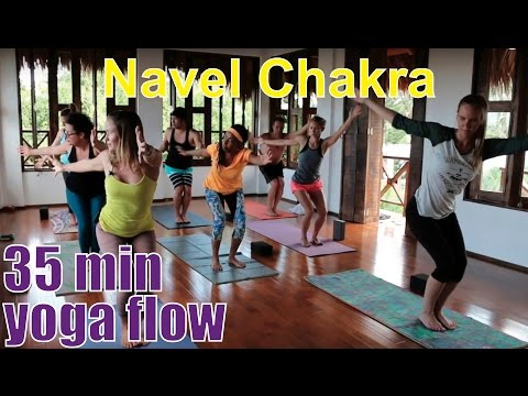 35 Minute Yoga Class - Chakra Series Part 3: Navel Chakra (Manipura)