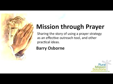 Rural Missions Solutions - Mission Through Prayer