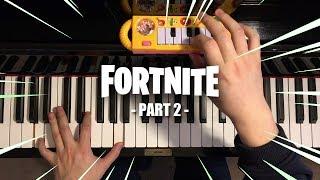$1 Piano Vs. $10000 Piano - FORTNITE DANCES (PART 2)