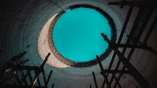 Chernobyl Abandoned Series - INSIDE THE COOLING TOWER! Ep. 4