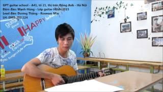 Tập nhịp guitar 6/8 với CÁT BỤI (Học viên GPT school)