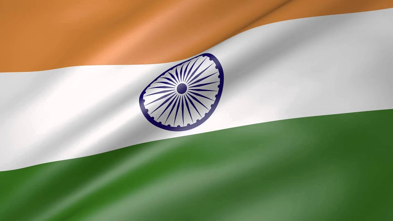 Indian Flag Animated: Animated Flag Of India