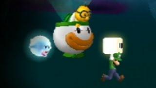 MLG Super Luigi Bros Wii - Part 3 - Firey Fails
