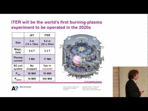 """Mathias Groth: """"Taming a star - fusion and fusion research at Aalto University"""""""