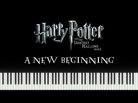 Harry Potter - A New Beginning (Piano Tutorial) - FREE Sheet Music