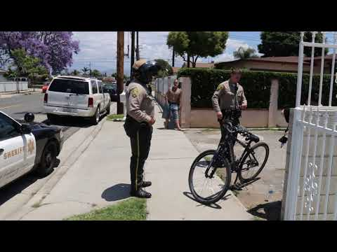 ITS FUNNY HOW THE DEPUTIES LET THE PUBLIC PUSH US AWAY CW