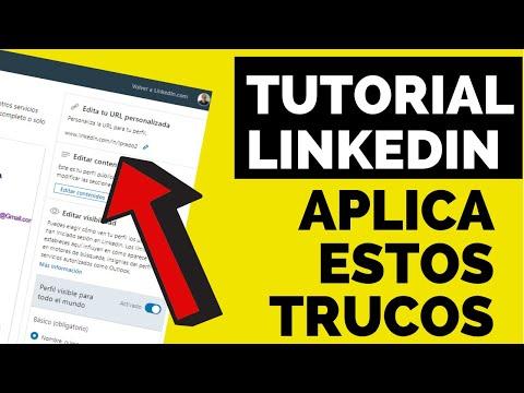 TRUCOS PERFIL de LinkedIn: cómo traducir automáticamente Y EDITAR LA URL DE tu perfil