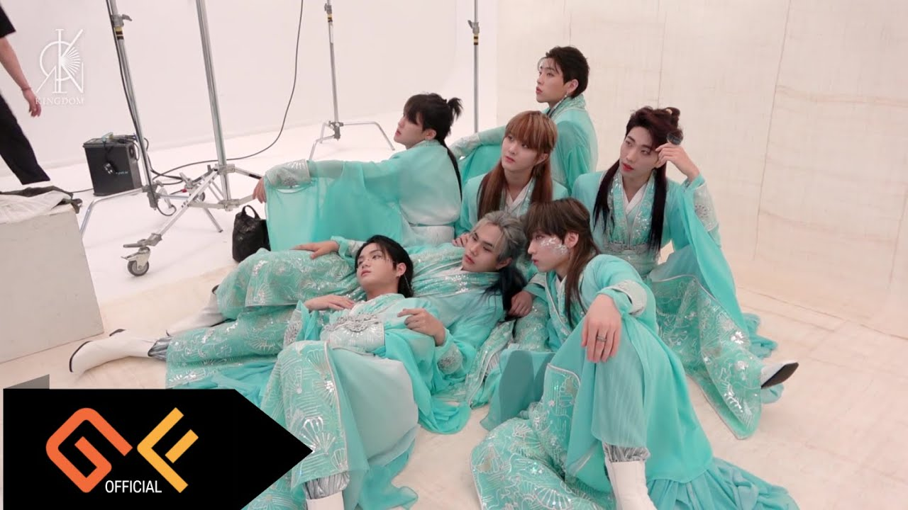 (ENG SUB) KINGDOM(킹덤) 'History Of Kingdom : PartⅡ. Chiwoo' 자켓 촬영 비하인드