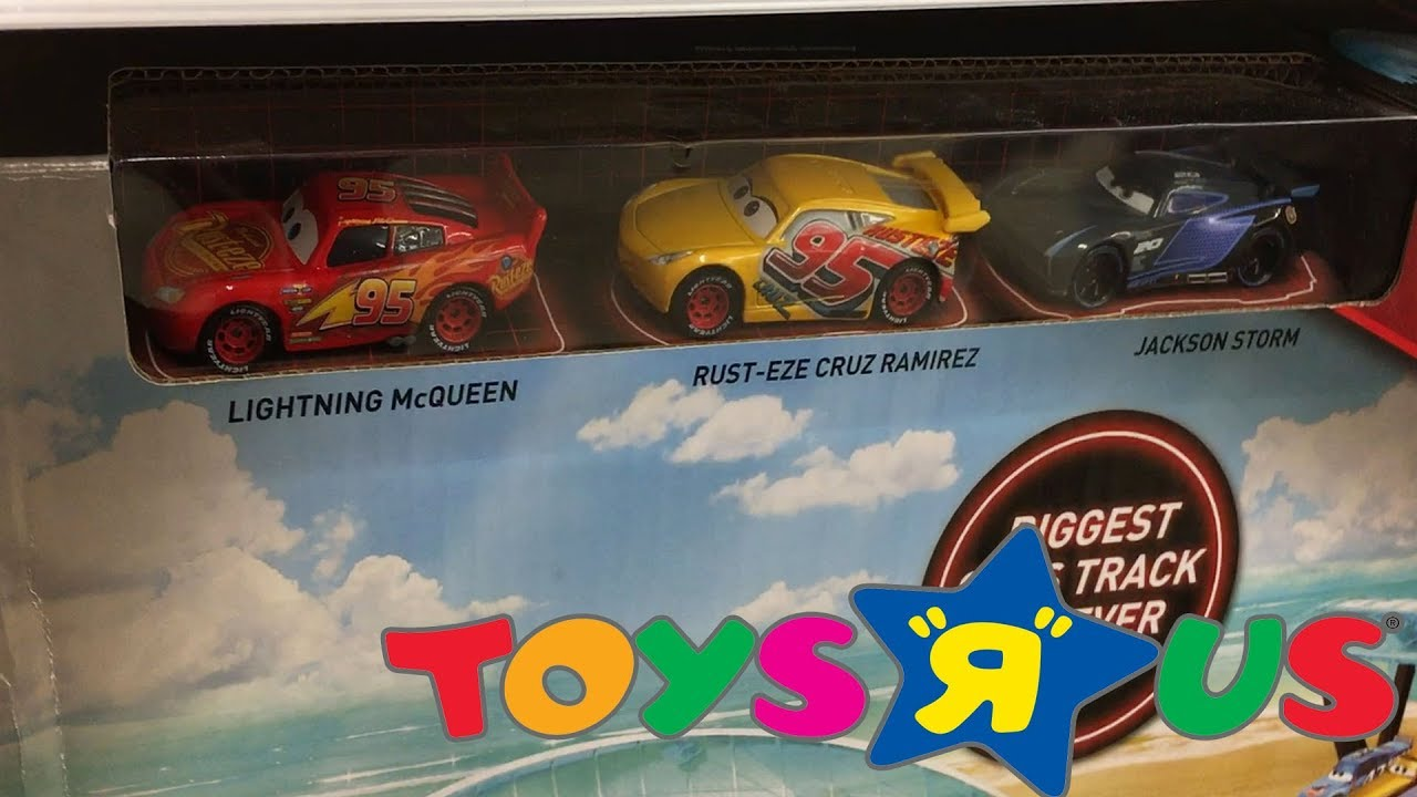 Toy Hunt At Toys R Us New Cars 3 Toys 2018 Lego City