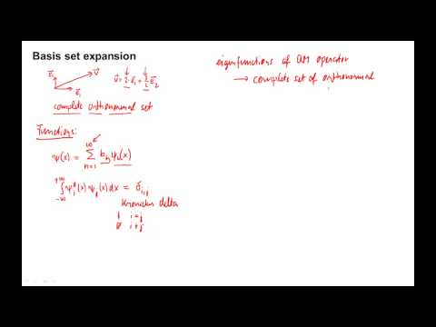 455: Basis set expansion