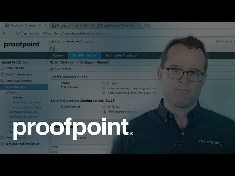 Proofpoint Email Protection, Targeted Attack Protection, and