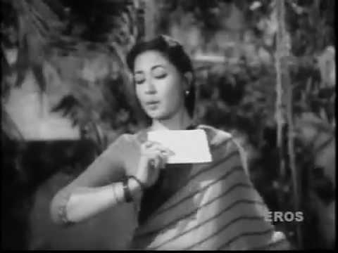 TERA KHAT LE KE SANAM. -LATA JI -MAJROOH - VASANT DESAI -ARDHANGINI (1959)