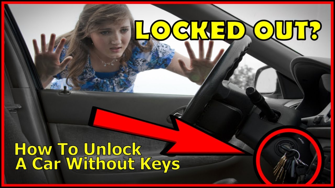How to unlock a car door without keys, the easy way