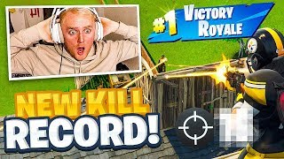 I Made a NEW FORTNITE Account AND Broke My KILL RECORD