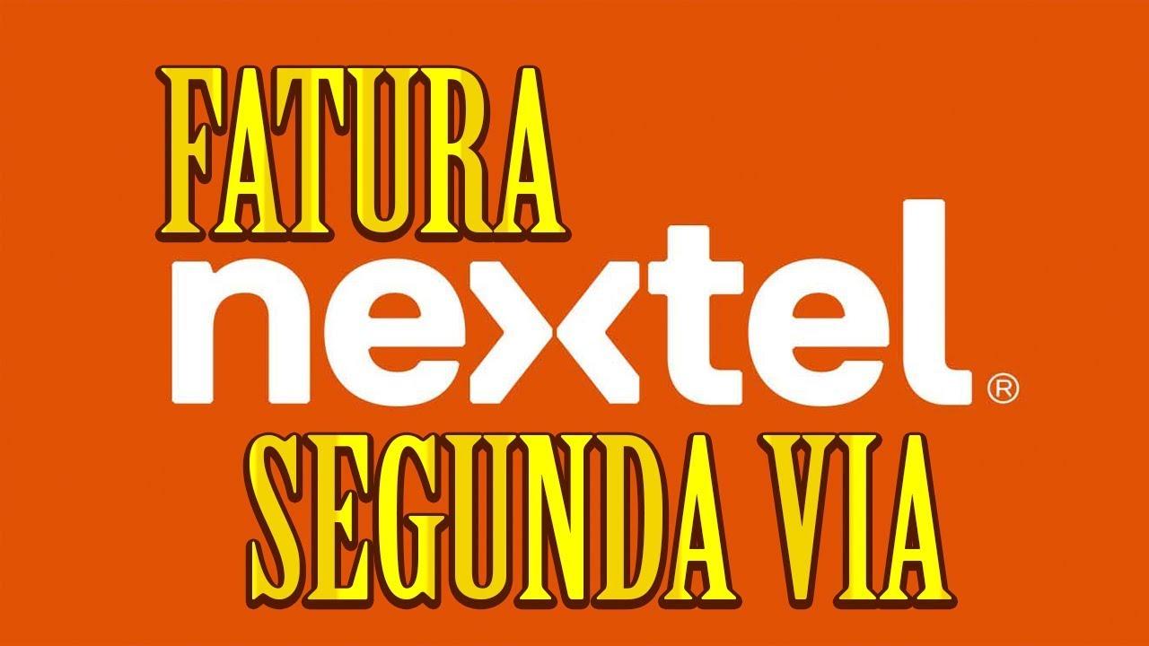 2 Via Fatura Nextel 2018 Youtube