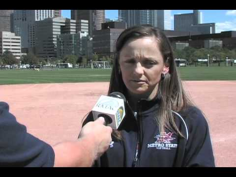 2010 Metro State Softball - Coach Jen Fisher CSU N...
